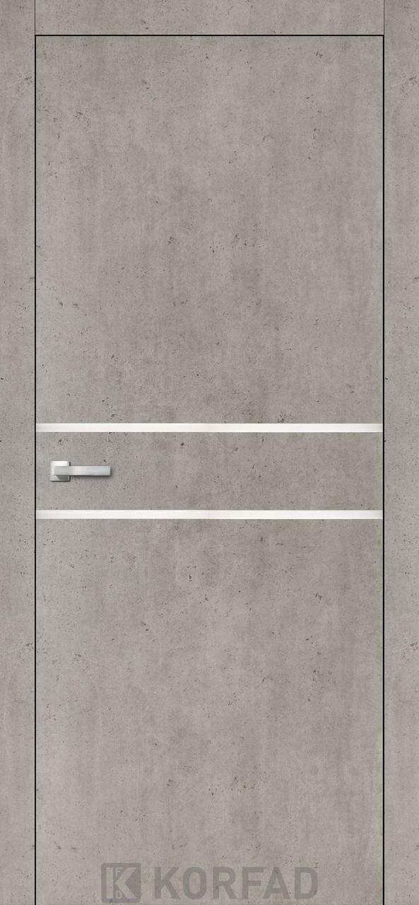 Міжкімнатні двері Aluminium Loft Plato-03 Korfad