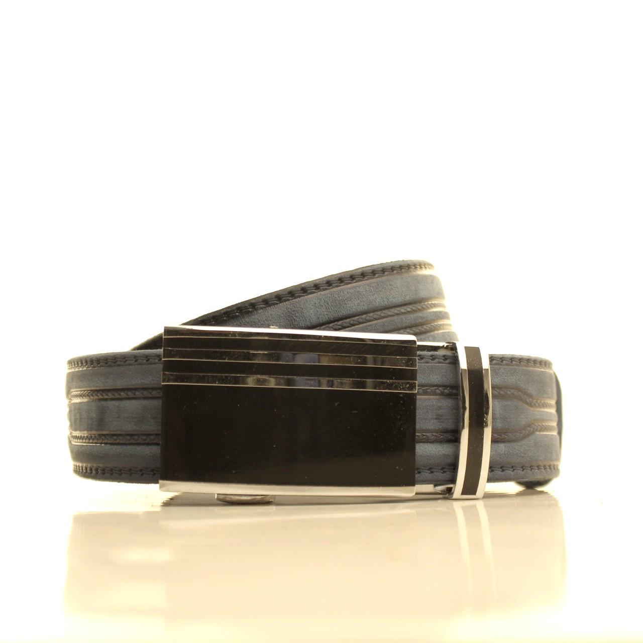 Ремень кожаный Lazar 105-115 см бежевый l35u1a113