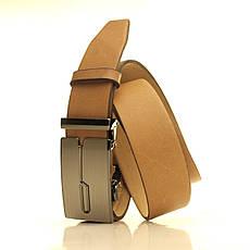 Ремень кожаный Lazar 105-115 см белый l35u1a125, фото 2