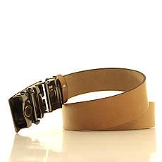Ремень кожаный Lazar 105-115 см белый l35u1a125, фото 3
