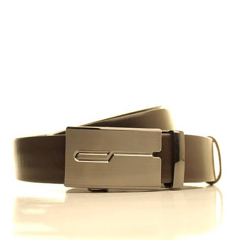 Ремень кожаный Lazar 105-115 см белый l35u1a126, фото 2