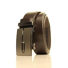 Ремень кожаный Lazar 105-115 см белый l35u1a126, фото 3