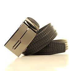Ремень кожаный Lazar 105-115 см черный l35u1a147, фото 2