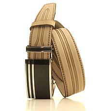 Ремень кожаный Lazar 120-125 см бежевый l35u1a112, фото 2