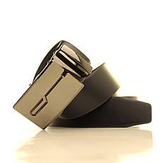 Ремень кожаный Lazar 120-125 см белый l35u1a127, фото 3