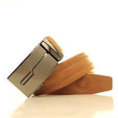 Ремень кожаный Lazar 120-125 см бежевый l35u1a136, фото 3