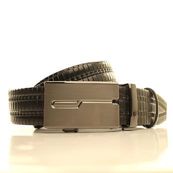 Ремень кожаный Lazar 120-125 см черный l35u1a149, фото 2
