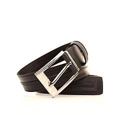 Ремень кожаный Lazar 120-125 см черный l30s1w10, фото 3