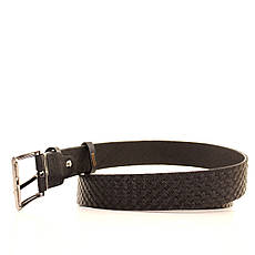 Ремень кожаный Lazar 120-125 см черный l30s1w11, фото 3