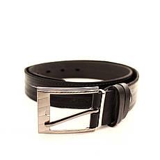 Ремень кожаный Lazar 70-80 см черный l30u3w15, фото 2