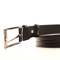 Ремень кожаный Lazar 70-80 см черный l30u3w15, фото 3