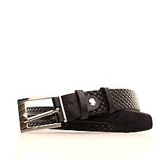 Ремень кожаный Lazar 70-80 см черный l30u3w16, фото 2