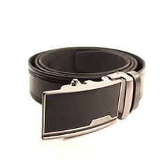 Ремень кожаный Lazar 105-115 см черный l35y1a6, фото 3