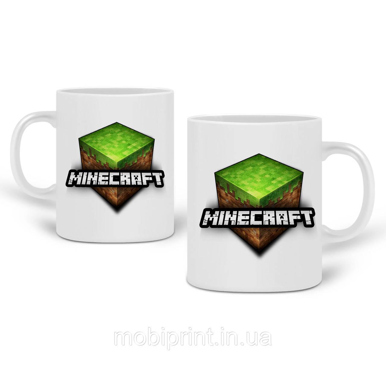 Кружка Майнкрафт (Minecraft) 330 мл Чашка Керамическая (20259-1174)