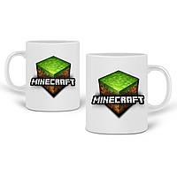 Кружка Майнкрафт (Minecraft) 330 мл Чашка Керамическая (20259-1174), фото 1