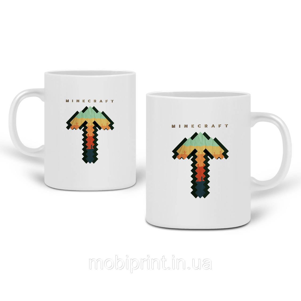Кружка Майнкрафт (Minecraft) 330 мл Чашка Керамическая (20259-1169)