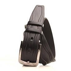 Ремень кожаный Lazar 105-115 см черный l35u1w78, фото 2