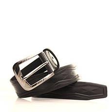 Ремень кожаный Lazar 105-115 см черный l35u1w78, фото 3