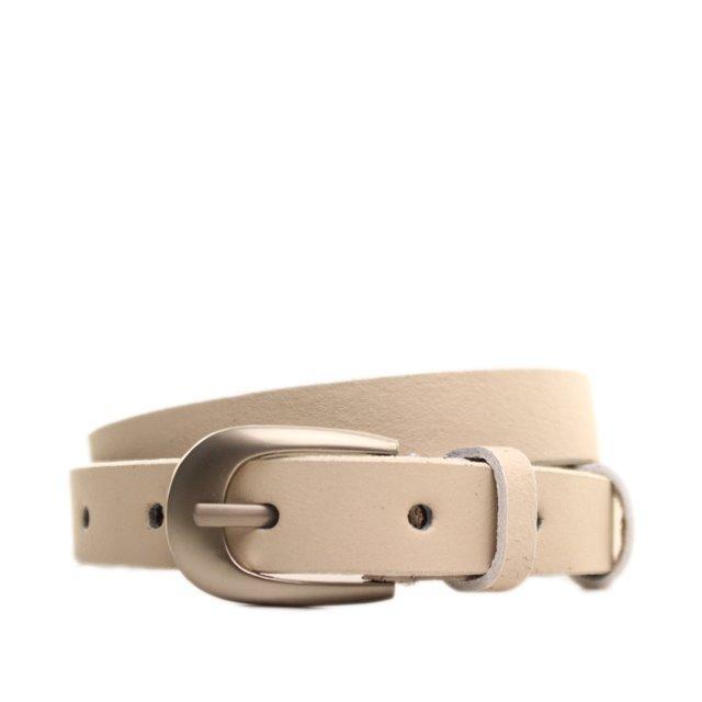 Ремень кожаный Lazar 115 см коричневый l20s0w6