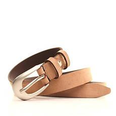 Ремень кожаный Lazar 105-115 см коричневый l20y0w11, фото 3
