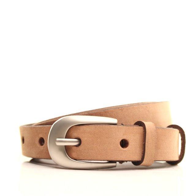 Ремень кожаный Lazar 120-125 см коричневый l20y0w11