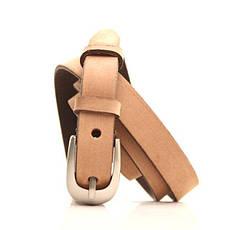 Ремень кожаный Lazar 120-125 см коричневый l20y0w11, фото 2