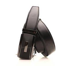 Ремень кожаный Alon 105-110 см черный l35a1a27, фото 2