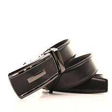 Ремень кожаный Alon 105-110 см черный l35a1a27, фото 3