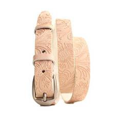 Ремень кожаный Lazar 105-110 см коричневый l20s0w11, фото 2