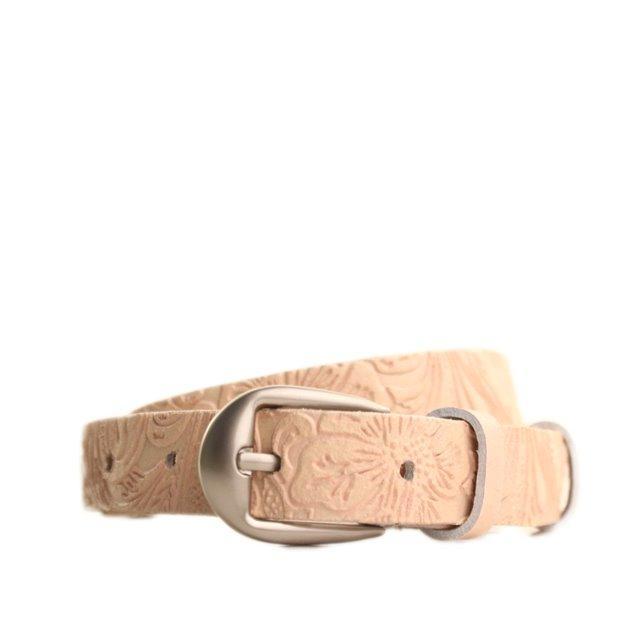 Ремень кожаный Lazar 115 см коричневый l20s0w11