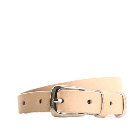 Ремень кожаный Lazar 115 см коричневый l20s0w12, фото 2