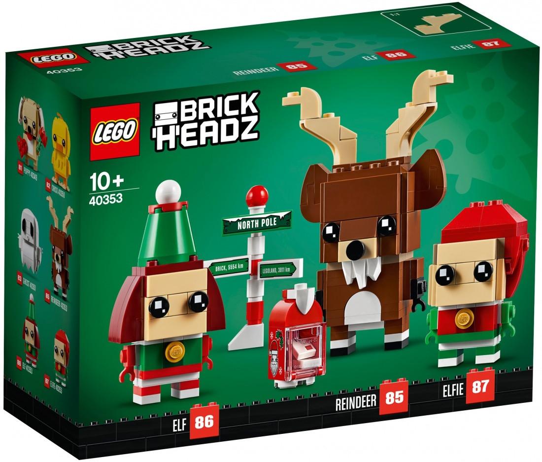 Lego BrickHeadz Олень и эльфы 40353