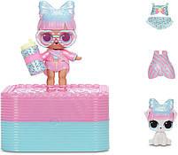 ЛОЛ Сюрприз Суперподарок Розовый LOL Deluxe Present Surprise pink (570691), фото 2