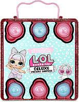 ЛОЛ Сюрприз Суперподарок Розовый LOL Deluxe Present Surprise pink (570691), фото 4