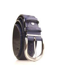 Ремень кожаный Lazar 115 см бордовый L35S0W62, фото 2