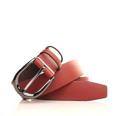 Ремень кожаный Lazar 105-110 см коричневый L35S0W64, фото 3