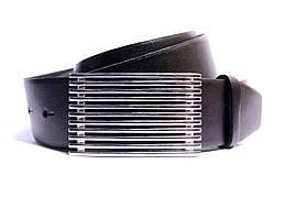 Ремень кожаный Lazar 105-110 см черный Л40И1Г2, фото 3