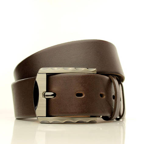Ремень кожаный Lazar 105-110 см черный L40U1W5, фото 2