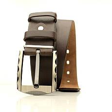 Ремень кожаный Lazar 105-110 см черный L40U1W5, фото 3
