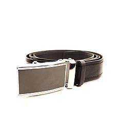Ремень кожаный Lazar 120-125 см черный l35u1a90, фото 3