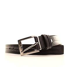 Ремень кожаный Lazar 60-70 см черный l30u3w15, фото 3
