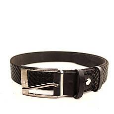 Ремень кожаный Lazar 60-70 см черный l30u3w16, фото 3