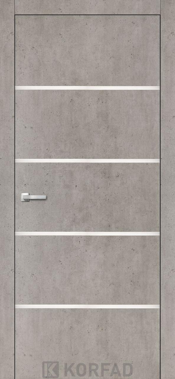 Міжкімнатні двері Aluminium Loft Plato-05 Korfad