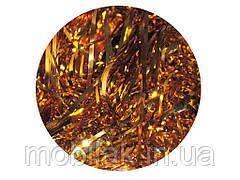 Дощик прямий золотий Mахі L=1,5м шир.8см 25шт ТМ ЯБЛОНСКИЙ