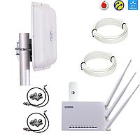 """Готовый комплект для подключения 3G / 4G интернета ТОП 2020 """"MIMO 2 × 15"""""""