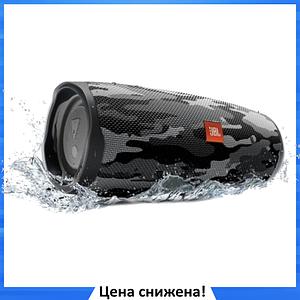 Портативная колонка JBL CHARGE 4 Камуфляж/Хаки - беспроводная Bluetooth колонка + Power Bank (Реплика)