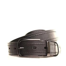 Ремень кожаный Lazar 130-140 см черный L30U1W16-1