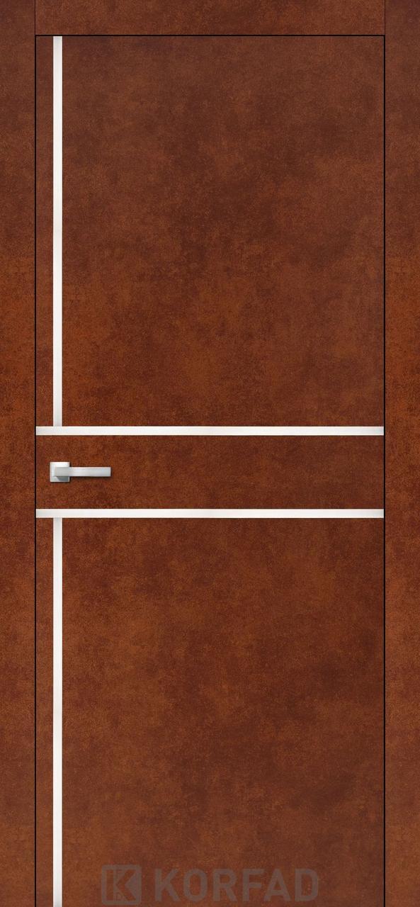 Міжкімнатні двері Aluminium Loft Plato-06 Korfad