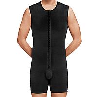 Корректирующее белье боди (комбидрес) для мужчин с шортами Aurafix LC-1710