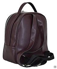 Жіночий рюкзак з позов-шкіри Case 643 замш бордо, фото 2